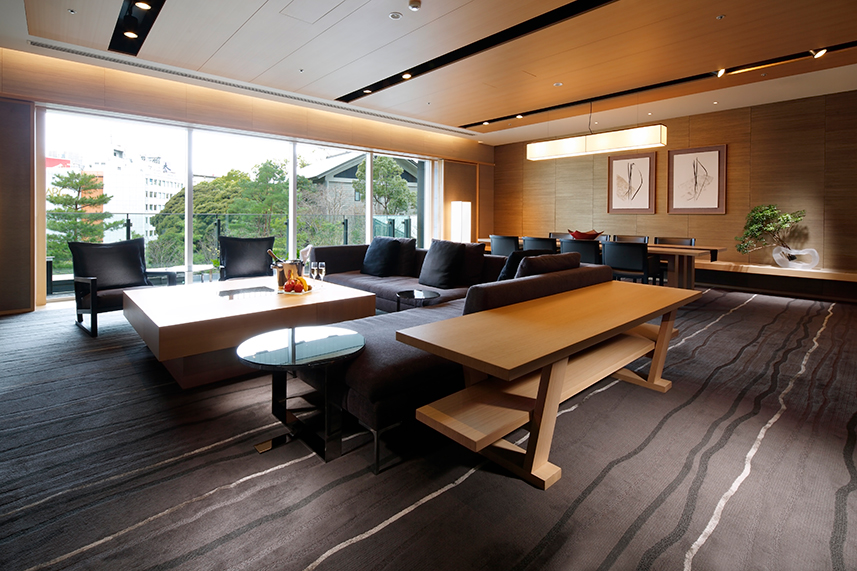 Including 13 Suites, All 251 Guest Rooms Of The Capitol Hotel Tokyu Feature  A Spacious Area Of Over 45 Square Meters. Incorporating Traditional Japanese  ...